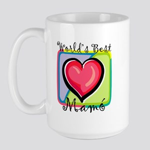WB Grandma [Irish Gaelic] Large Mug